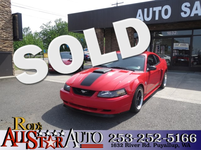 2004 Ford Mustang Premium Mach 1 The CARFAX Buy Back Guarantee that comes with this vehicle means