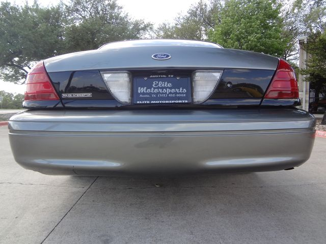 2004 Ford Police Interceptor Street Appear Austin , Texas 4