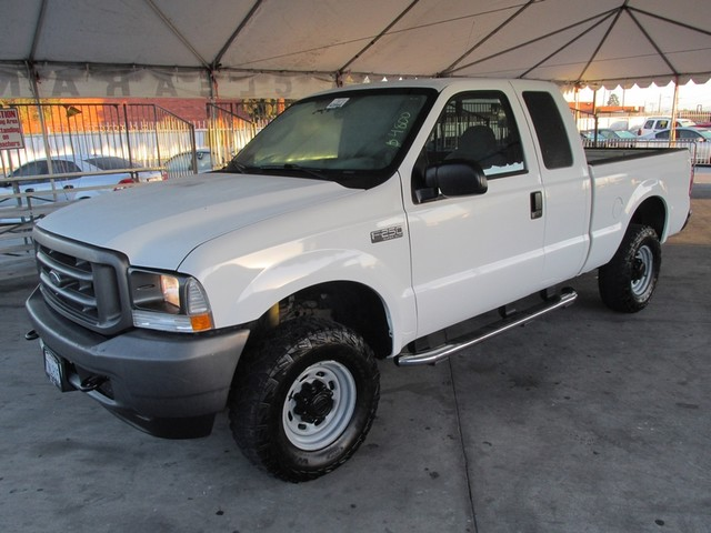2004 Ford Super Duty F-250 XL Please call or e-mail to check availability All of our vehicles ar