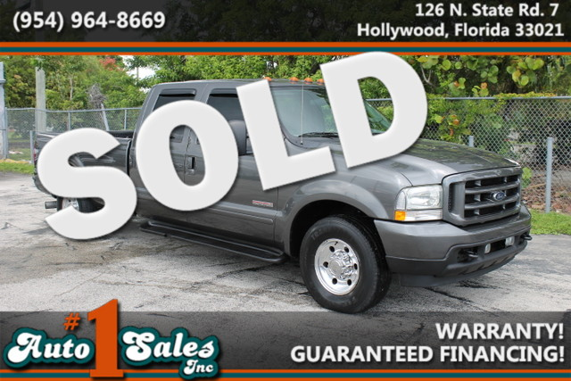 2004 Ford Super Duty F-250 XLT  WARRANTY 2 OWNERS 12 SERVICE RECORDS FLORIDA VEHICLE  Th