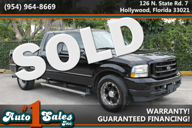 2004 Ford Super Duty F-250 XLT  WARRANTY 7 SERVICE RECORDS FLORIDA VEHICLE TRADES WELCOME