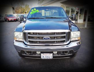 2004 Ford Super Duty F250 XLT 4x4 Turbo Diesel Chico, CA 6