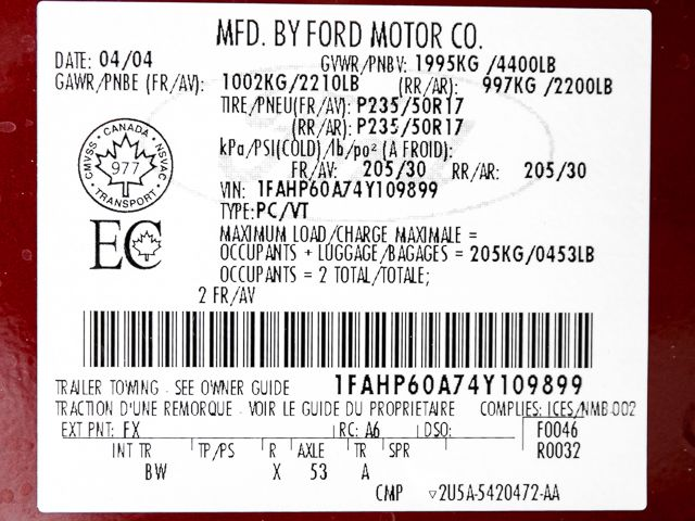 2004 Ford Thunderbird Premium Burbank, CA 23