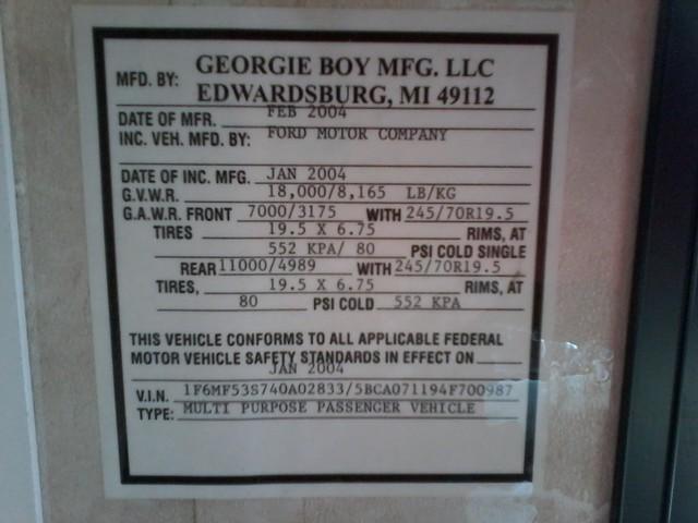 2004 Georgie Boy Pursuit  RV 2970 DS San Antonio, Texas 48