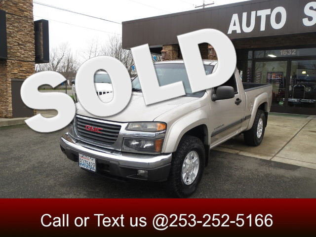 2004 GMC Canyon SLE Z71 The CARFAX Buy Back Guarantee that comes with this vehicle means that you