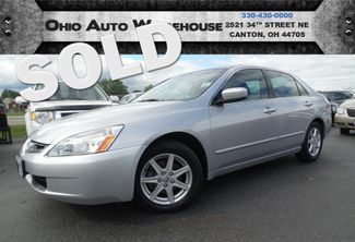 2004 Honda Accord EX V6 71k LOW MILES Sunroof Leather We Finance | Canton, Ohio | Ohio Auto Warehouse LLC in  Ohio