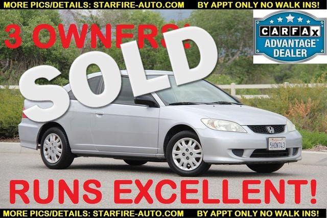 2004 Honda Civic LX Santa Clarita, CA 0