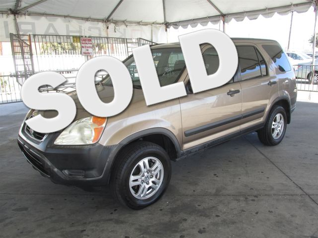 2004 Honda CR-V EX Please call or e-mail to check availability All of our vehicles are availabl