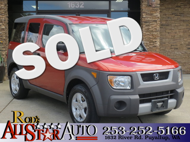 2004 Honda Element AWD This vehicle is a CarFax certified one-owner used car Pre-owned vehicles c