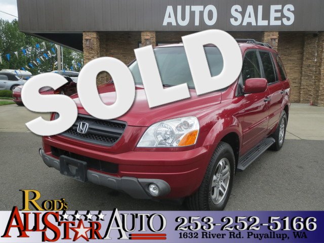 2004 Honda Pilot EX The CARFAX Buy Back Guarantee that comes with this vehicle means that you can