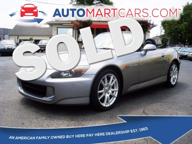 2004 Honda S2000  | Nashville, Tennessee | Auto Mart Used Cars Inc. in Nashville Tennessee