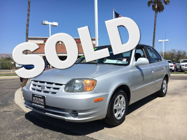 2004 Hyundai Accent GL Youll have change leftover when filling up this fuel efficient ride VIN