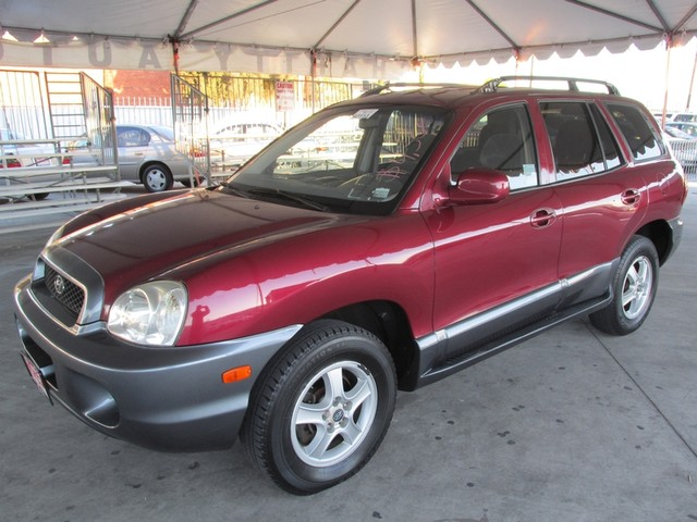 2004 Hyundai Santa Fe GLS Please call or e-mail to check availability All of our vehicles are av
