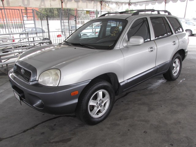 2004 Hyundai Santa Fe Please call or e-mail to check availability All of our vehicles are avail
