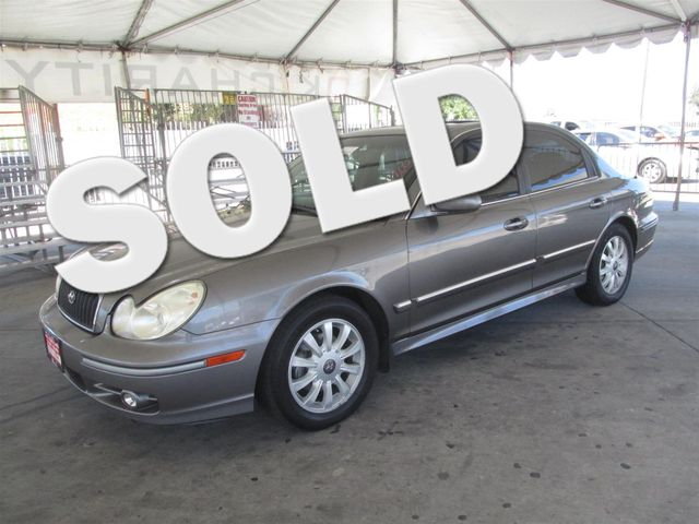 2004 Hyundai Sonata LX Please call or e-mail to check availability All of our vehicles are avai