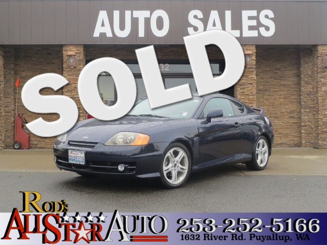 2004 Hyundai Tiburon GT The CARFAX Buy Back Guarantee that comes with this vehicle means that you