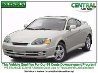 2004 Hyundai TIBURON/PW  | Hot Springs, AR | Central Auto Sales in Hot Springs AR