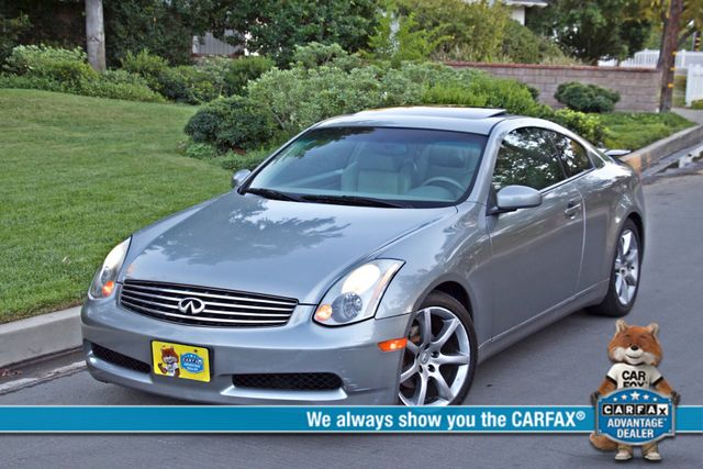 2004 Infiniti G35 COUPE W/LEATHER ONLY 95K ORIGINAL MLS SERVICE RECORDS XENON ALLOY WHLS Woodland Hills, CA 0