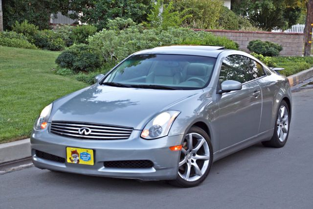 2004 Infiniti G35 COUPE W/LEATHER ONLY 95K ORIGINAL MLS SERVICE RECORDS XENON ALLOY WHLS Woodland Hills, CA 1