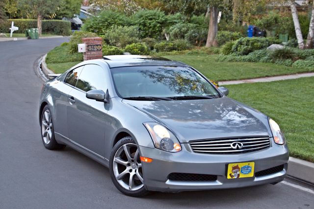 2004 Infiniti G35 COUPE W/LEATHER ONLY 95K ORIGINAL MLS SERVICE RECORDS XENON ALLOY WHLS Woodland Hills, CA 8