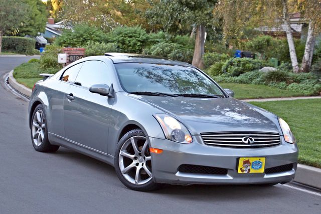 2004 Infiniti G35 COUPE W/LEATHER ONLY 95K ORIGINAL MLS SERVICE RECORDS XENON ALLOY WHLS Woodland Hills, CA 21