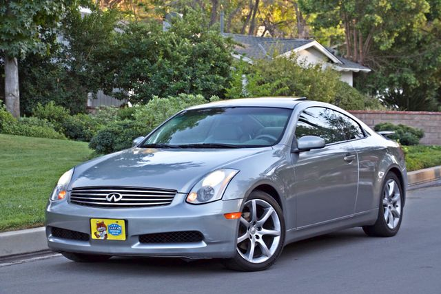 2004 Infiniti G35 COUPE W/LEATHER ONLY 95K ORIGINAL MLS SERVICE RECORDS XENON ALLOY WHLS Woodland Hills, CA 11