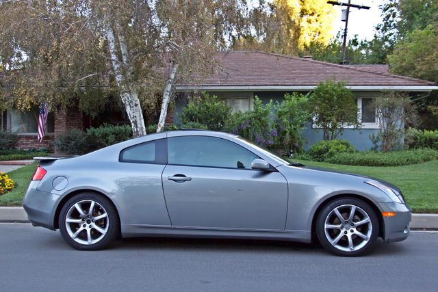 2004 Infiniti G35 COUPE W/LEATHER ONLY 95K ORIGINAL MLS SERVICE RECORDS XENON ALLOY WHLS Woodland Hills, CA 7