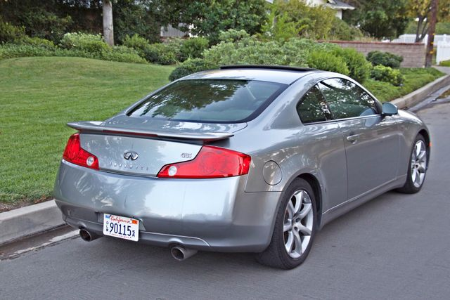 2004 Infiniti G35 COUPE W/LEATHER ONLY 95K ORIGINAL MLS SERVICE RECORDS XENON ALLOY WHLS Woodland Hills, CA 6