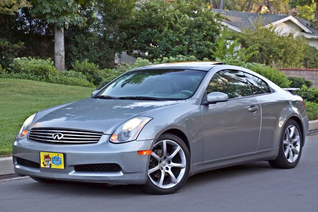 2004 Infiniti G35 COUPE W/LEATHER ONLY 95K ORIGINAL MLS SERVICE RECORDS XENON ALLOY WHLS Woodland Hills, CA 2