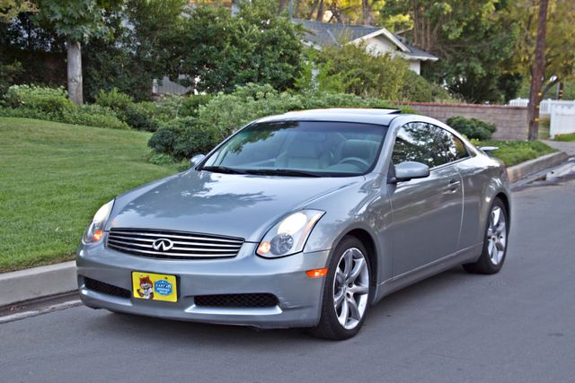 2004 Infiniti G35 COUPE W/LEATHER ONLY 95K ORIGINAL MLS SERVICE RECORDS XENON ALLOY WHLS Woodland Hills, CA 23