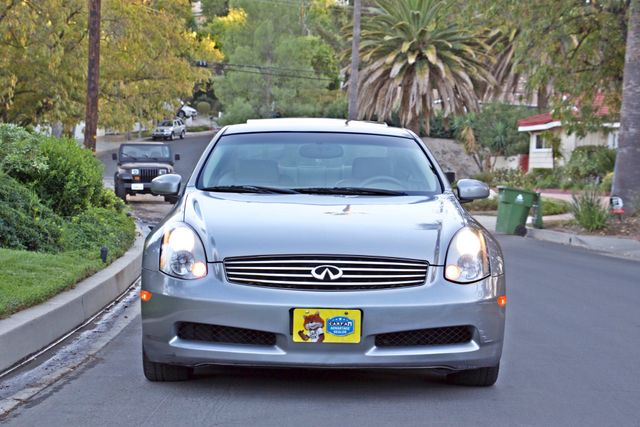 2004 Infiniti G35 COUPE W/LEATHER ONLY 95K ORIGINAL MLS SERVICE RECORDS XENON ALLOY WHLS Woodland Hills, CA 10