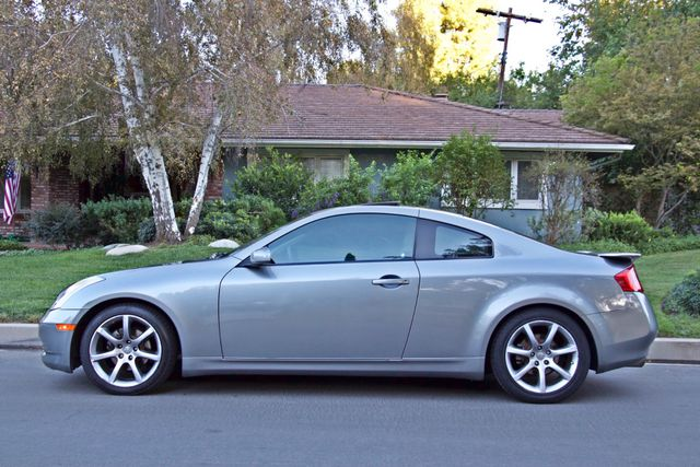 2004 Infiniti G35 COUPE W/LEATHER ONLY 95K ORIGINAL MLS SERVICE RECORDS XENON ALLOY WHLS Woodland Hills, CA 3