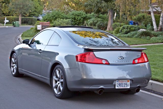 2004 Infiniti G35 COUPE W/LEATHER ONLY 95K ORIGINAL MLS SERVICE RECORDS XENON ALLOY WHLS Woodland Hills, CA 24