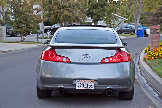 2004 Infiniti G35 COUPE W/LEATHER ONLY 95K ORIGINAL MLS SERVICE RECORDS XENON ALLOY WHLS Woodland Hills, CA 5