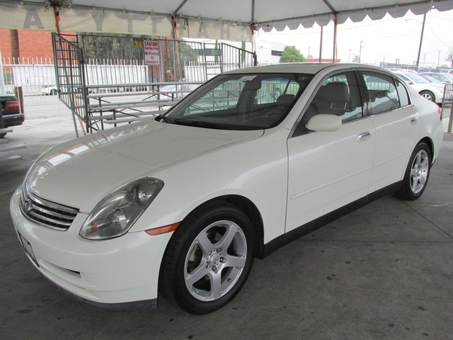 2004 Infiniti G35 wLeather This particular vehicle has a SALVAGE title Please call or email to ch