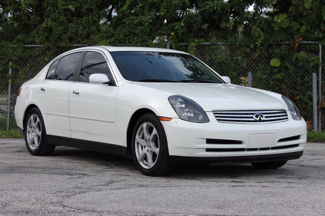 2004 Infiniti G35 wLeather  WARRANTY CARFAX CERTIFIED AUTOCHECK CERTIFIED 8 SERVICE RECORDS