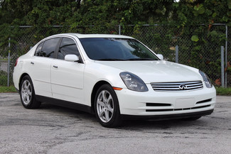 2004 Infiniti G35 w/Leather Hollywood, Florida 24