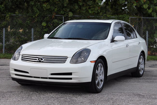 2004 Infiniti G35 w/Leather Hollywood, Florida 50