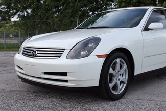 2004 Infiniti G35 w/Leather Hollywood, Florida 40