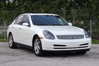 2004 Infiniti G35 w/Leather Hollywood, Florida 1