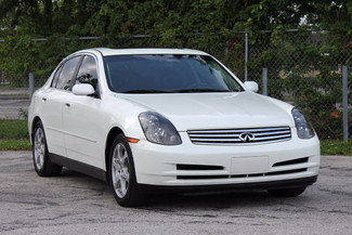 2004 Infiniti G35 w/Leather Hollywood, Florida 49