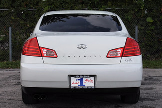 2004 Infiniti G35 w/Leather Hollywood, Florida 6