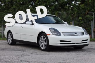 2004 Infiniti G35 w/Leather Hollywood, Florida