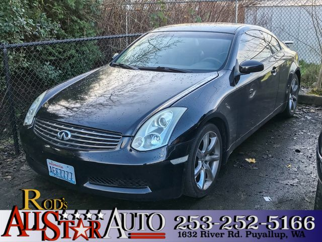2004 INFINITI G35 The CARFAX Buy Back Guarantee that comes with this vehicle means that you can bu