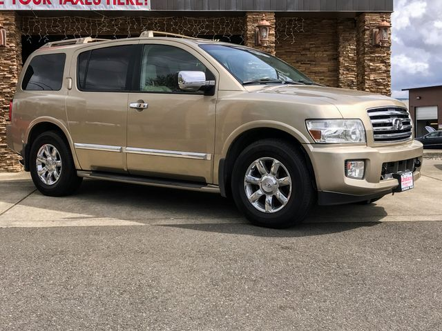2004 INFINITI QX56 4WD The CARFAX Buy Back Guarantee that comes with this vehicle means that you c