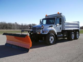 2004 International 7400 Tandem 13' Plow Dump Truck, Spreader, Auto ., .
