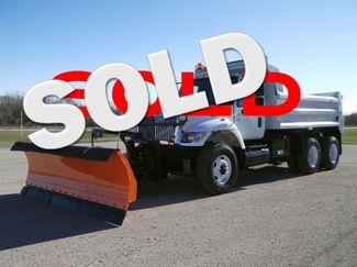 2004 International 7400 Tandem 13' Plow Dump Truck, Spreader, Auto ., .