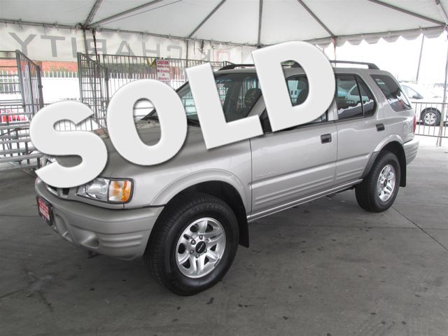 2004 Isuzu Rodeo S Please call or e-mail to check availability All of our vehicles are availabl