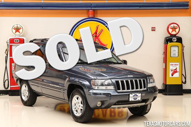 2004 Jeep Grand Cherokee Laredo This clean Carfax 2004 Jeep Grand Cherokee Laredo is in great shap