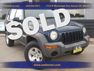 2004 Jeep Liberty Sport 4x4 | Denver, CO | A&A Automotive of Denver in Denver, Littleton, Englewood, Aurora, Lakewood, Morrison, Brighton, Fort Lupton, Longmont, Montbello, Commerece City CO